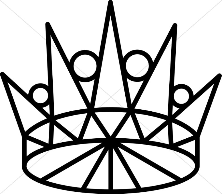 Line Art Crown