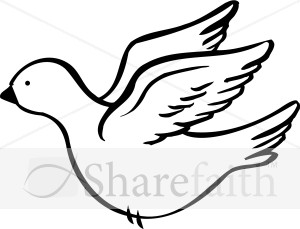 Sweet Dove Clipart