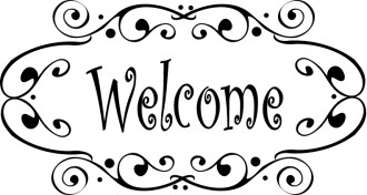Fancy Welcome Image