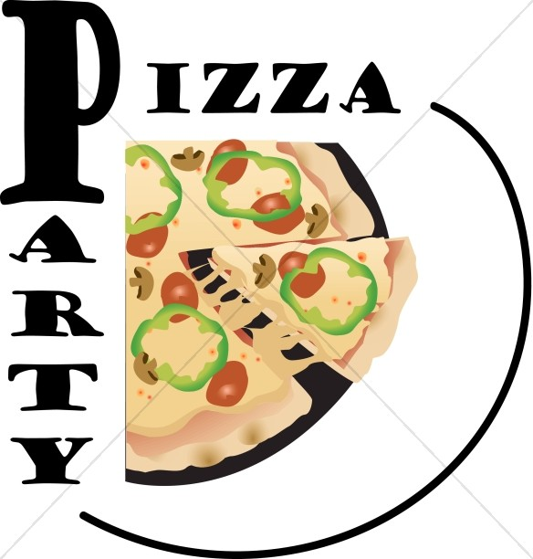 Pizza Party Graphic