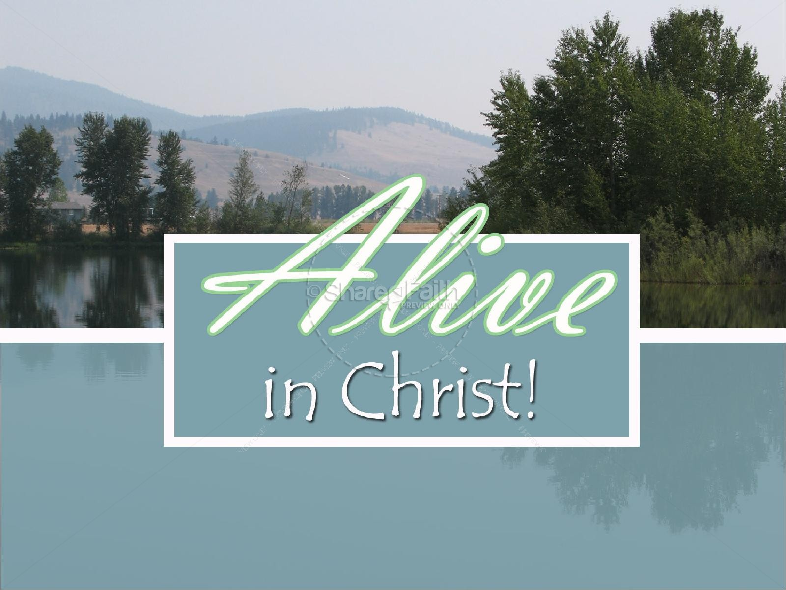 Alive in Christ Slideshow