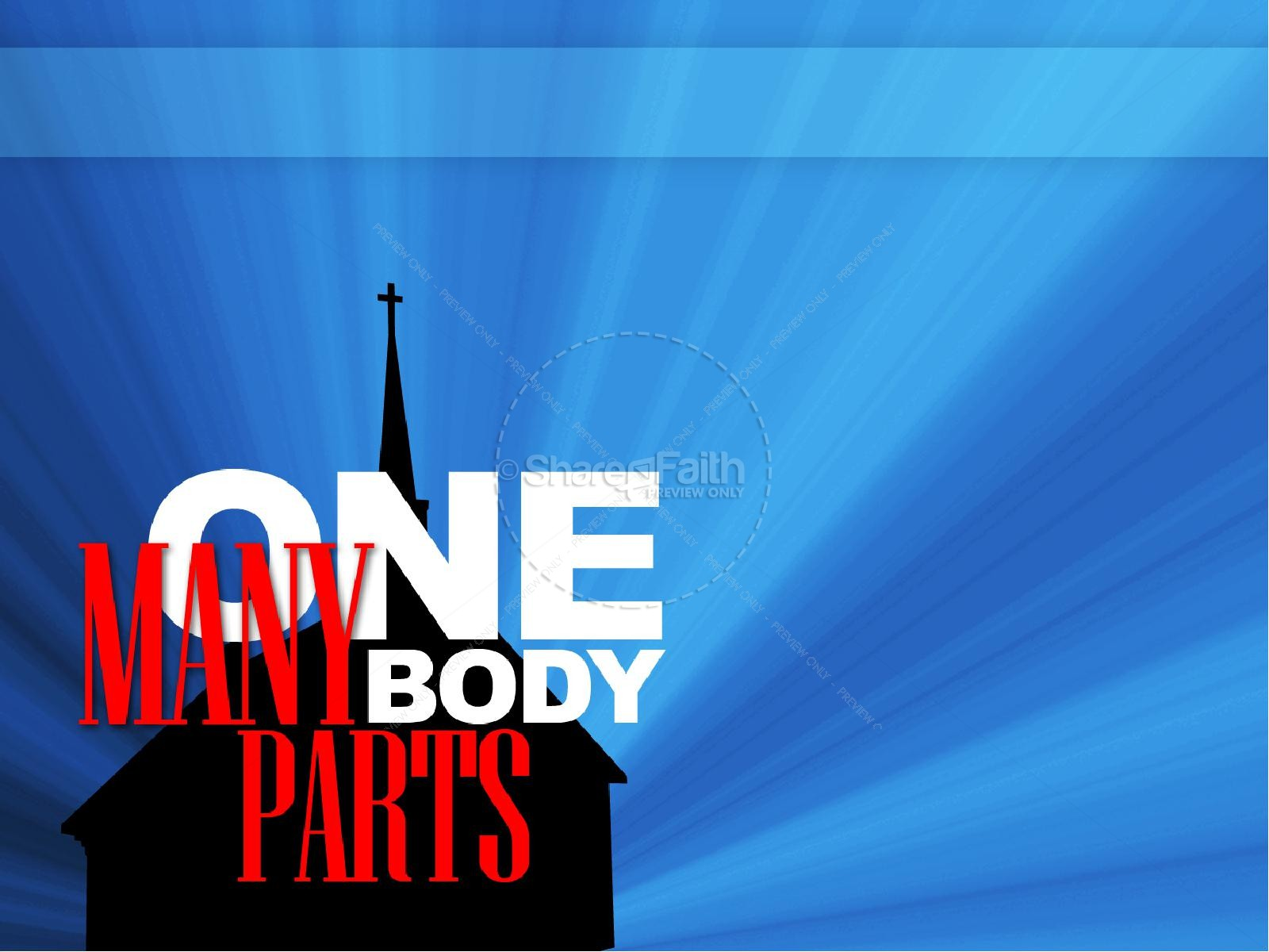 Body of Christ Sermon PowerPoint
