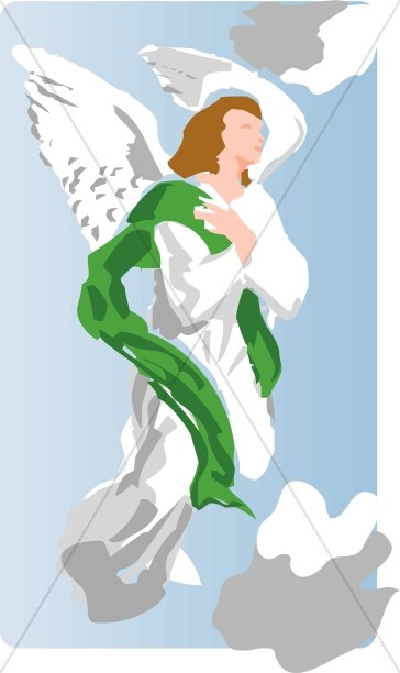Angel in the Clouds Image