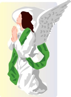 Angel in Prayer Image