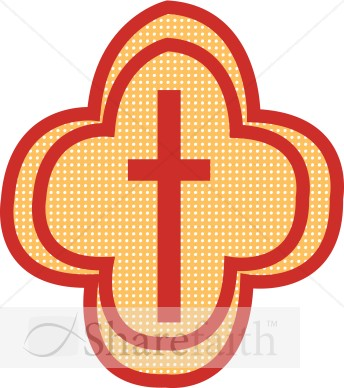 Decorative Cross Graphic