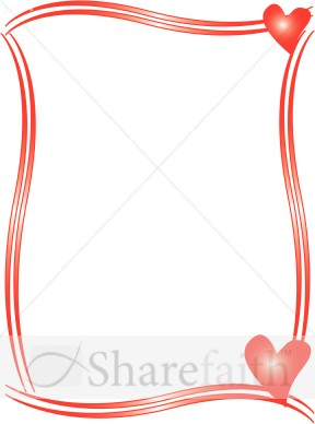 Valentine Borders For Word | New Calendar Template Site