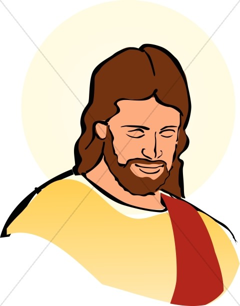 Color Portrait of Jesus