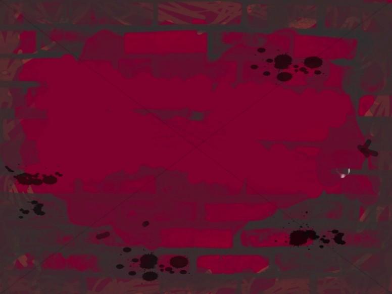 Dark Red Brick Background