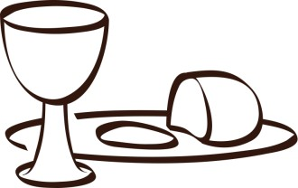 Simple Communion Clip Art