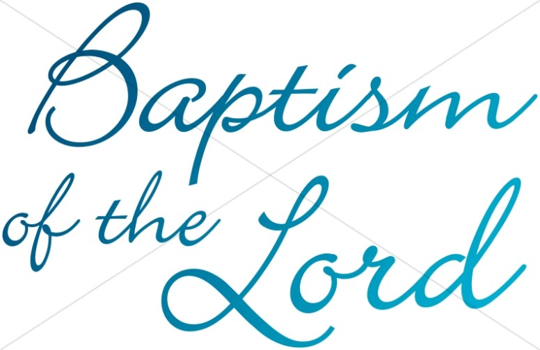 Baptism of the Lord Words
