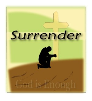 Surrender Graphic