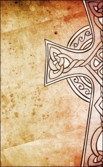 Celtic Cross Church Bulletin Cover