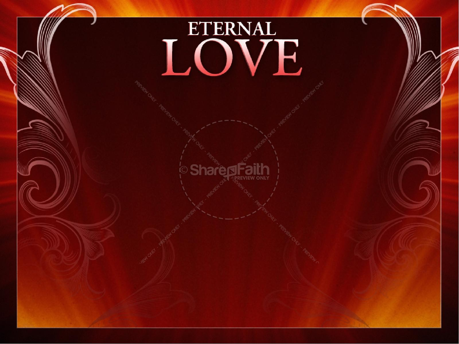 Eternal Love Powerpoint Valentines Day Powerpoints