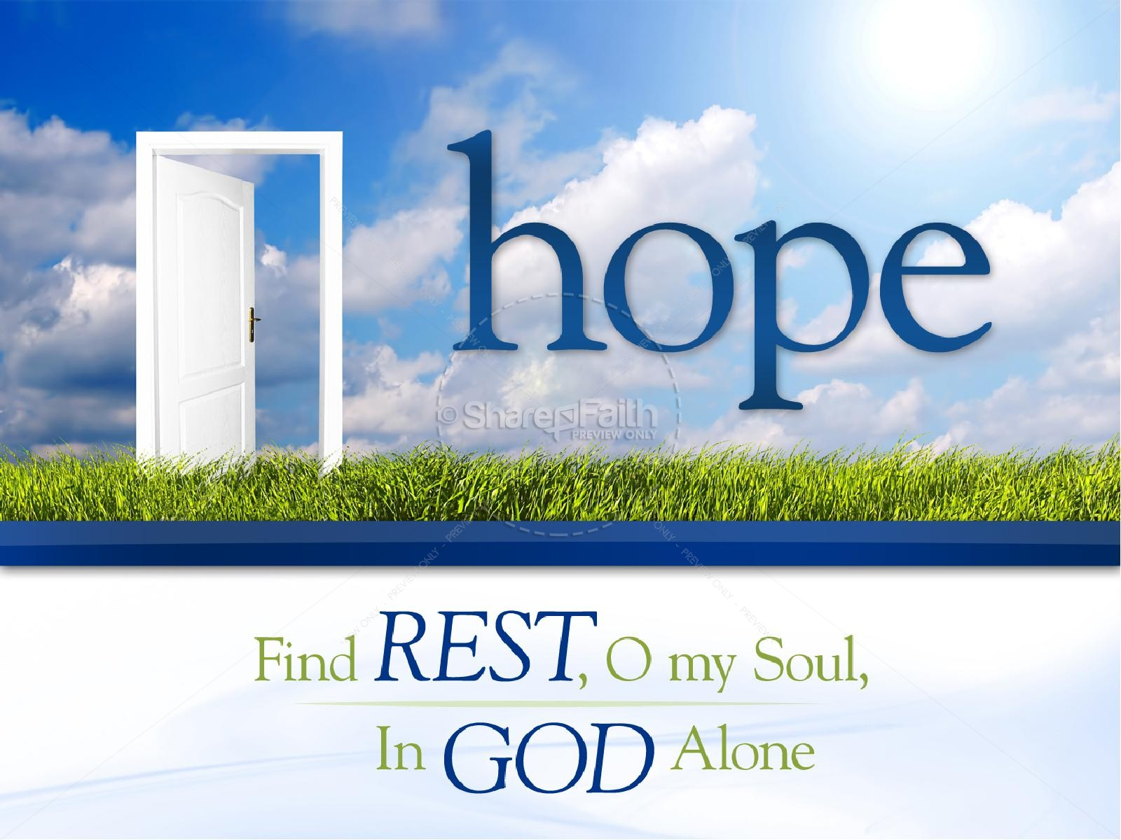 Hope Christian PowerPoint
