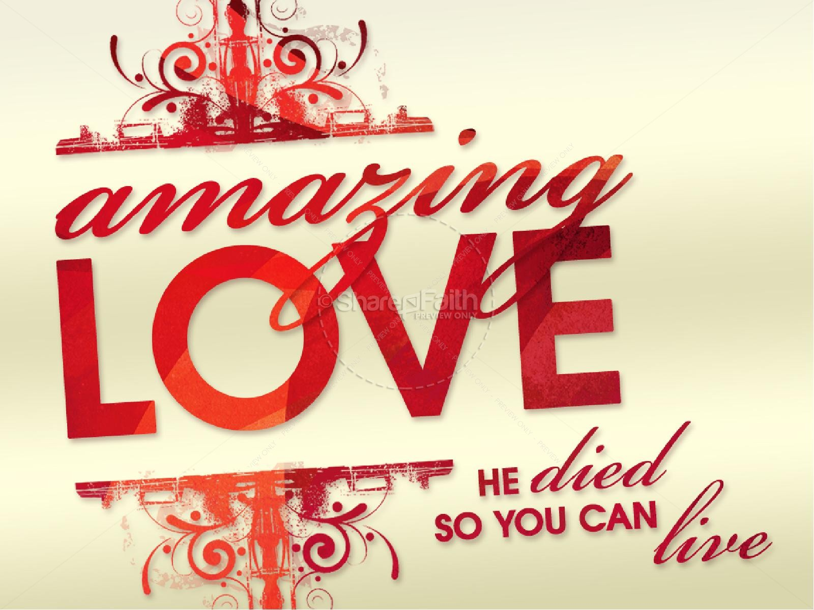 Amazing Love PowerPoint | slide 5