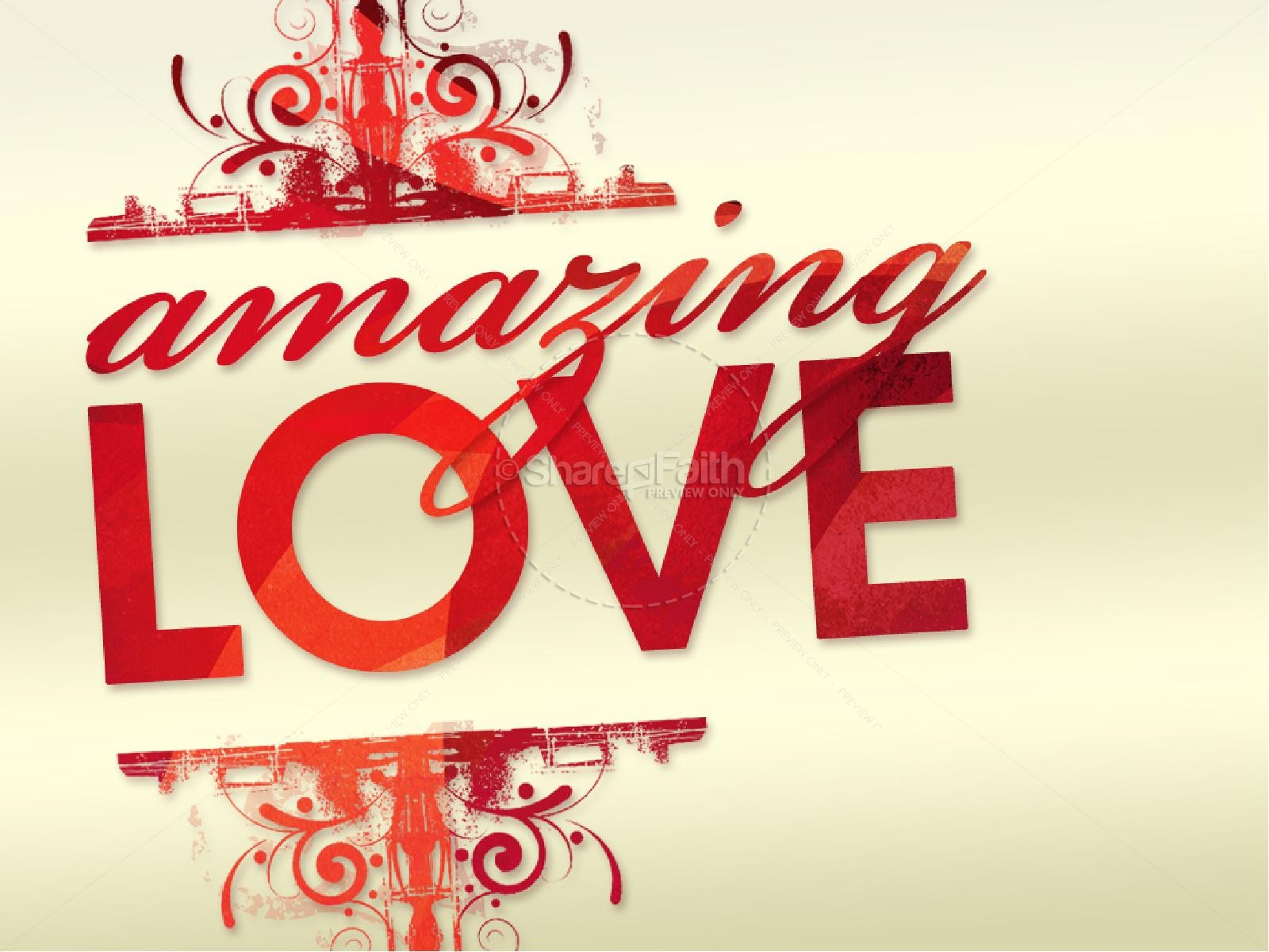 Amazing Love PowerPoint