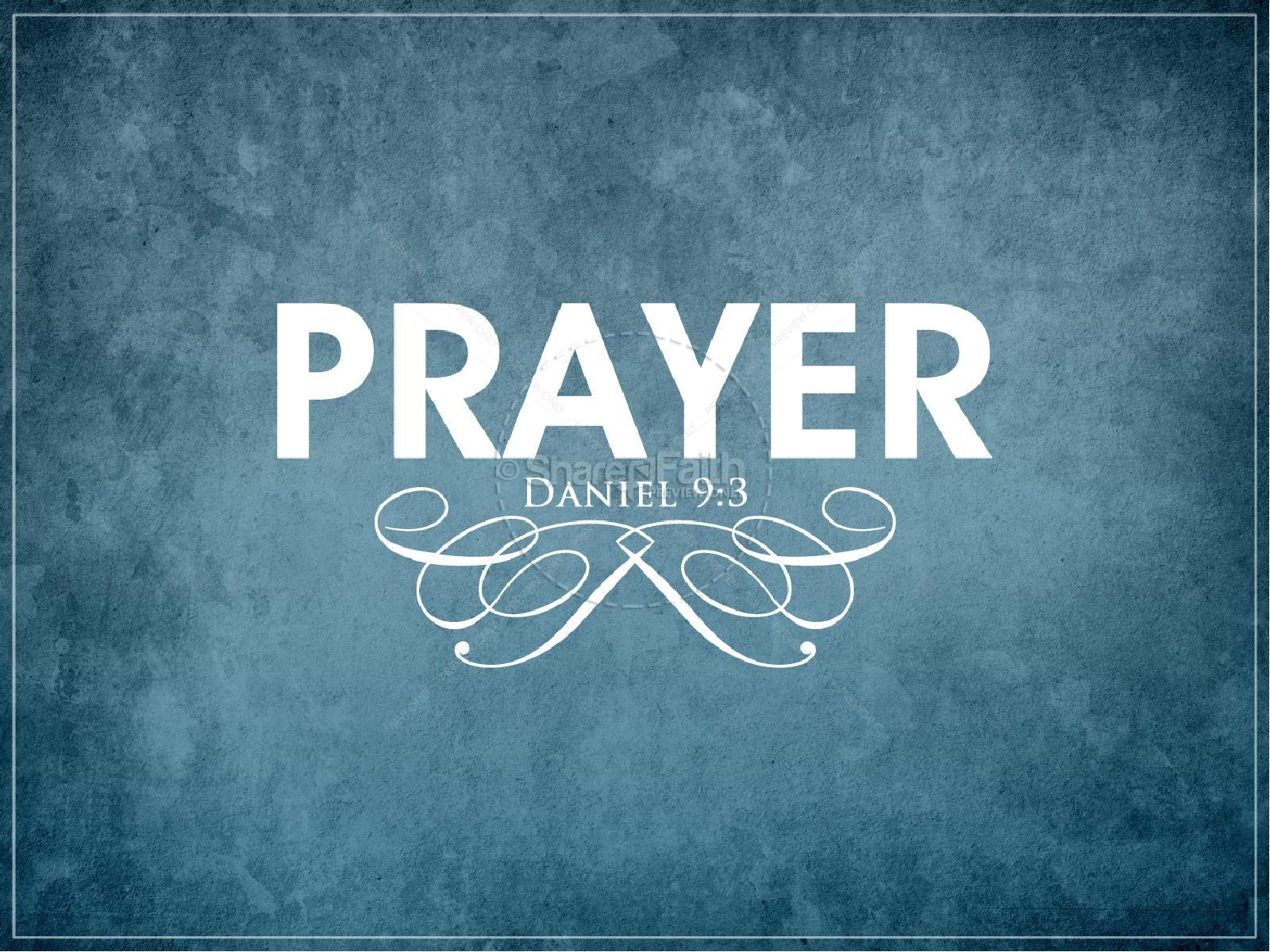 Prayer Church PowerPoint | slide 3