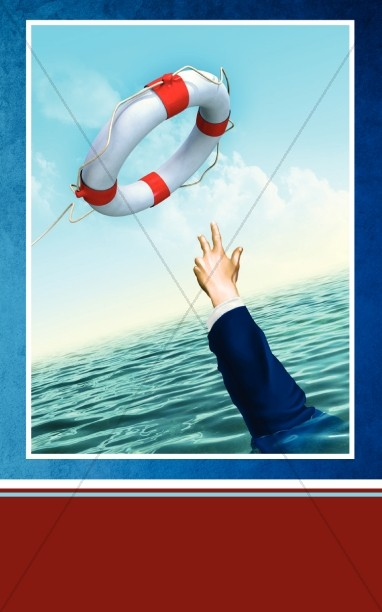 Saved Church Bulletin Cover