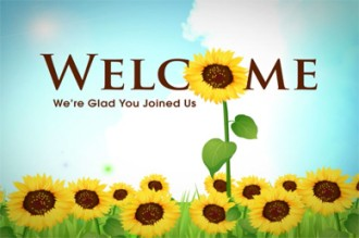 Welcome Video Splash Screen