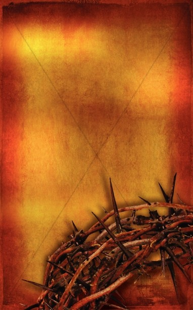 Passion of Christ Church Bulletin Cover