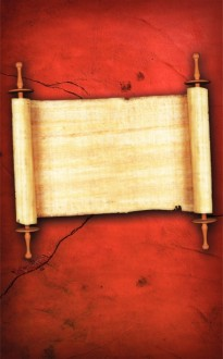 Paper Scroll Church Bulletin Cover