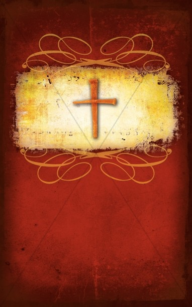 Holy Communion Church Bulletin Cover