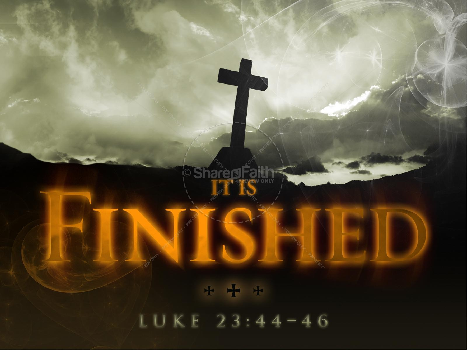 It Is Finished Church PowerPoint