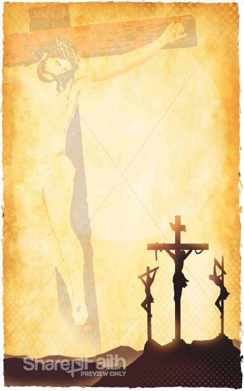 Passion of Christ  Bulletin Cover