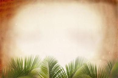 Palm Sunday Worship Background Video