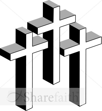Line Art Crosses