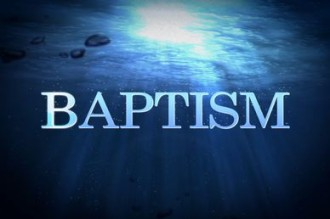 Water Baptism Video