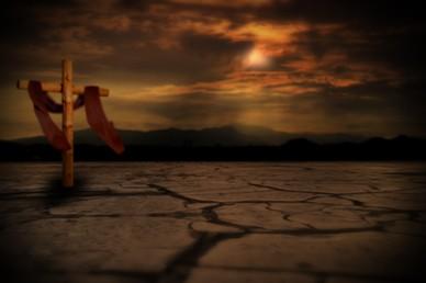 Draped Cross Worship Video