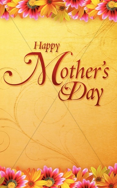 Happy Mothers Day Bulletin Cover