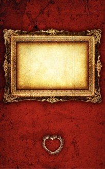 Vintage Golden Frame Bulletin Cover