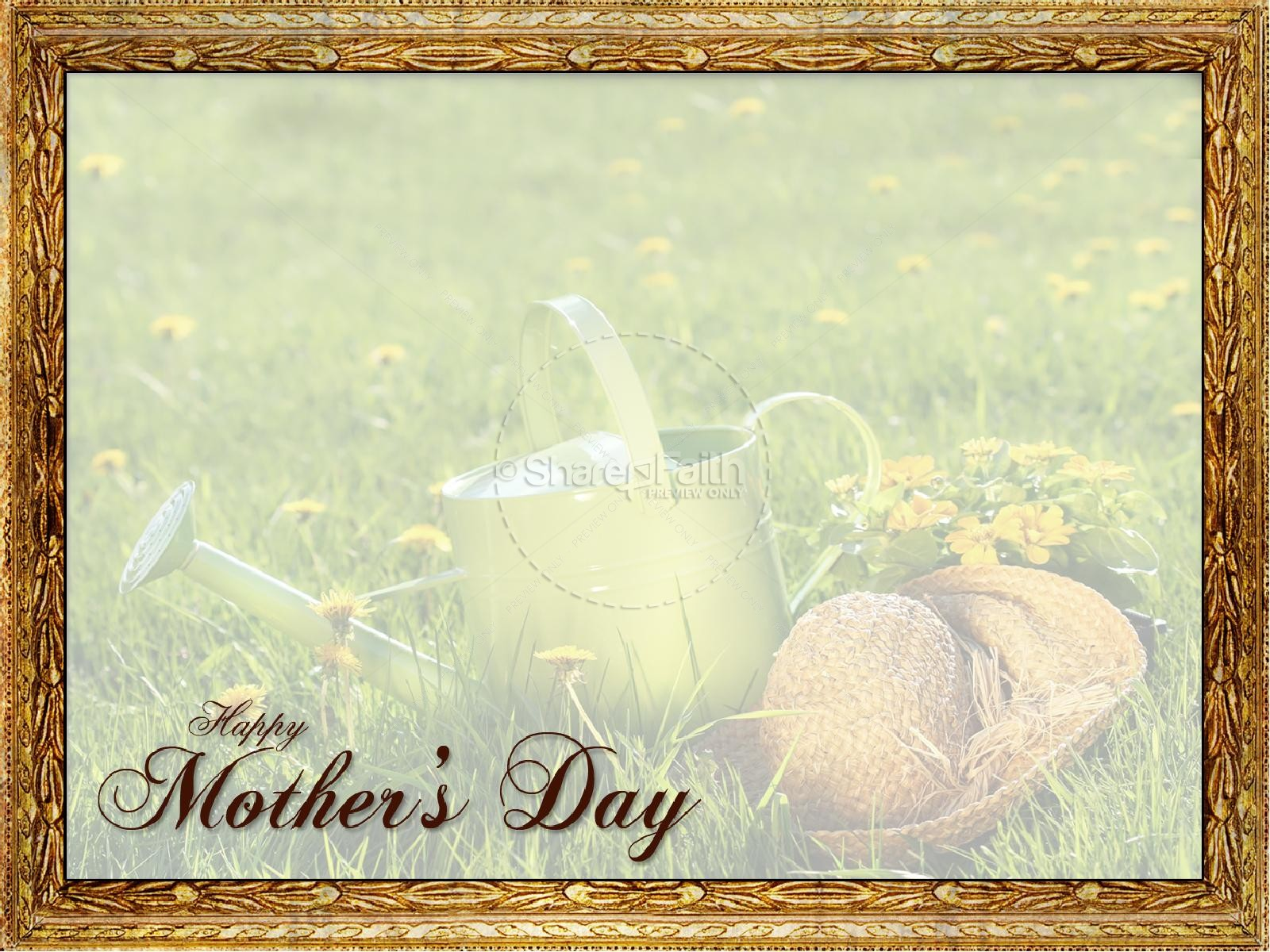 A Mothers Day Gift PowerPoint | slide 3