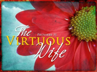 The Virtuous Wife Church PowerPoint
