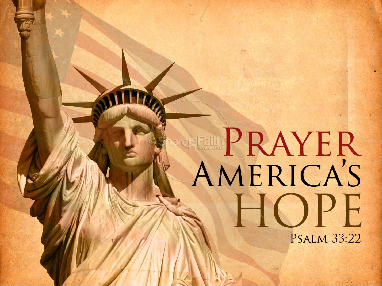 National Day of Prayer Powerpoint Slideshow | slide 1