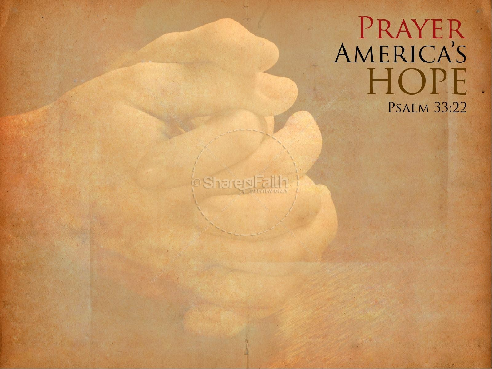 National Day of Prayer Powerpoint Slideshow