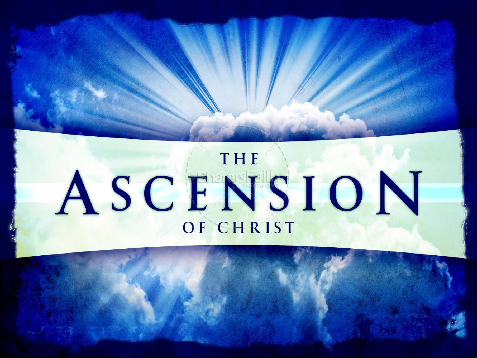 Ascension of Christ PowerPoint | slide 2