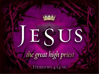Jesus High Priest Resurrection Easter PowerPoint Template