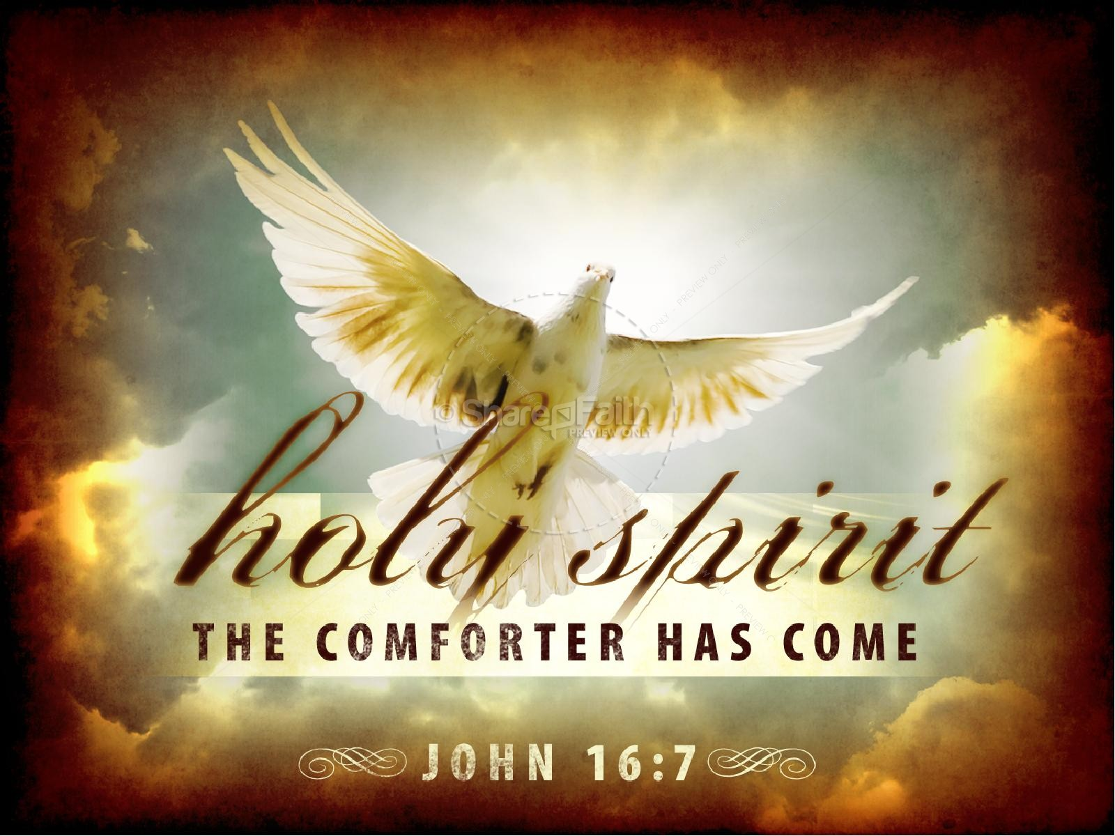 The Comforter Has Come Church PowerPoint