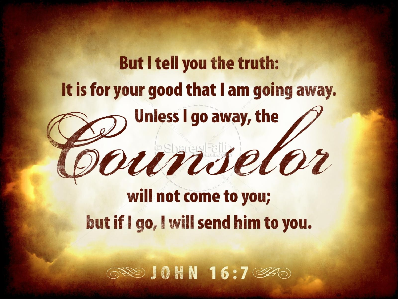 The Comforter Has Come Church Powerpoint Pentecost