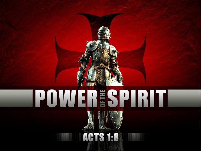Power of the Spirit Worship Service PowerPoint