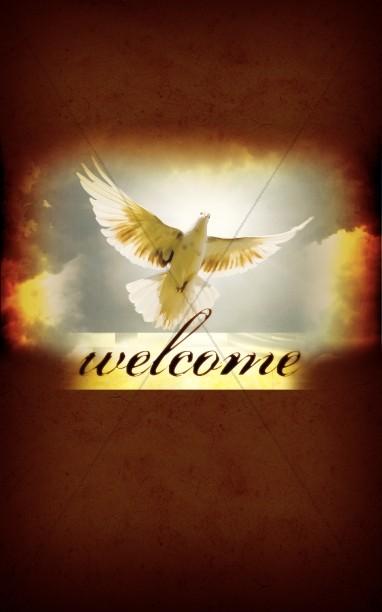 Holy Spirit The Comforter Bulletin Cover