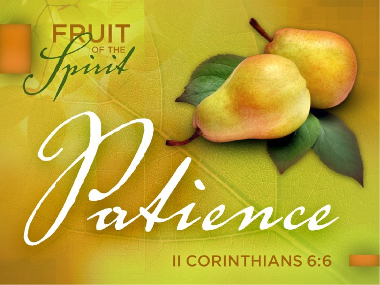 Patience Fruit of the Spirit PowerPoint Template