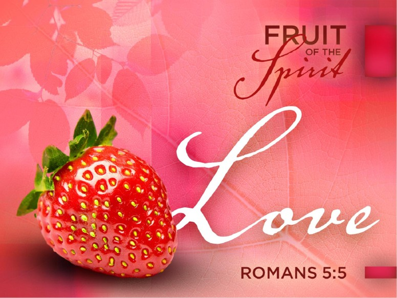 Love Fruit of the Spirit Pentecost PowerPoint Template