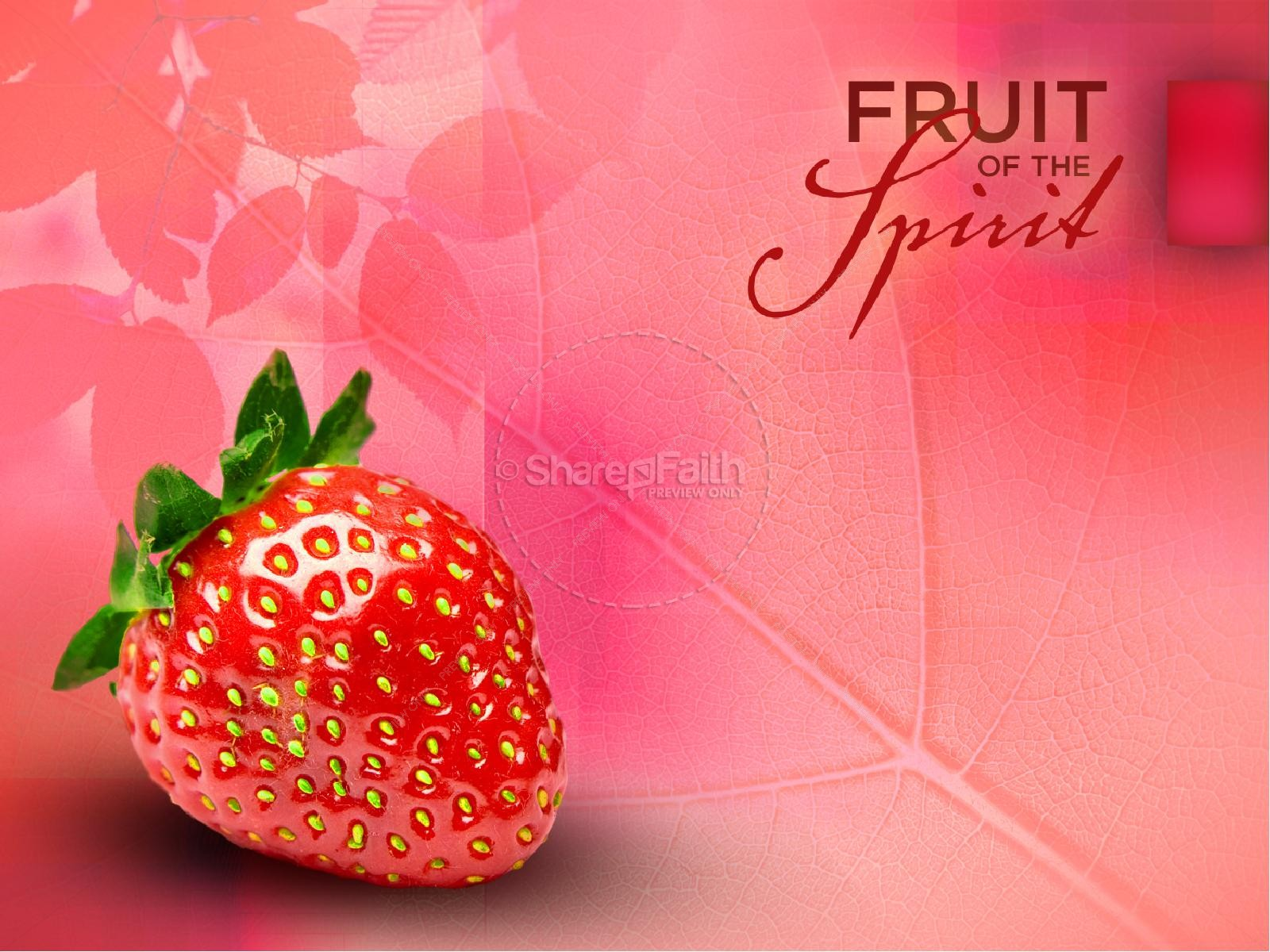 Love Fruit of the Spirit Pentecost PowerPoint Template