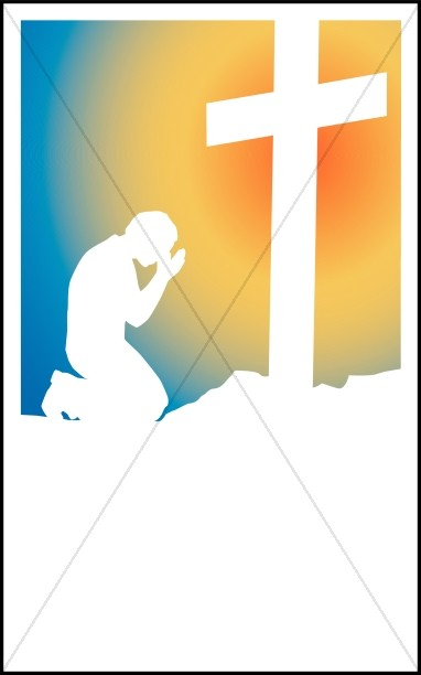 Prayer At The Foot Of The Cross Bulletin Cover