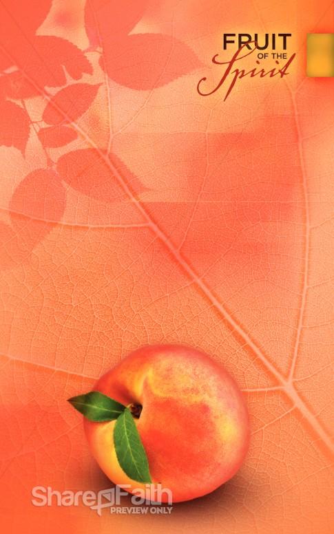 Gentleness Fruit Of The Spirit