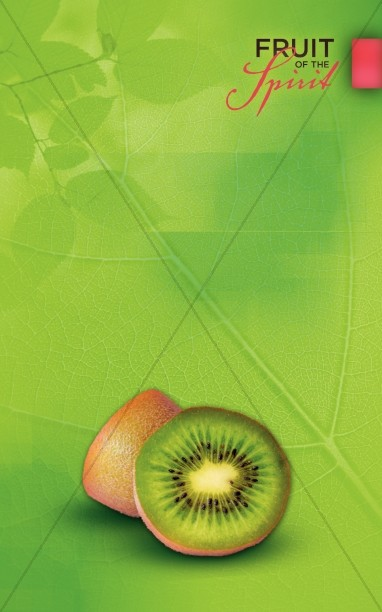 Kindness And Goodness Fruit Of The Spirit Bulletin Cover